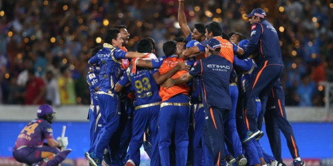 Mumbai Indians win record third IPL in a nail biting one-run victory