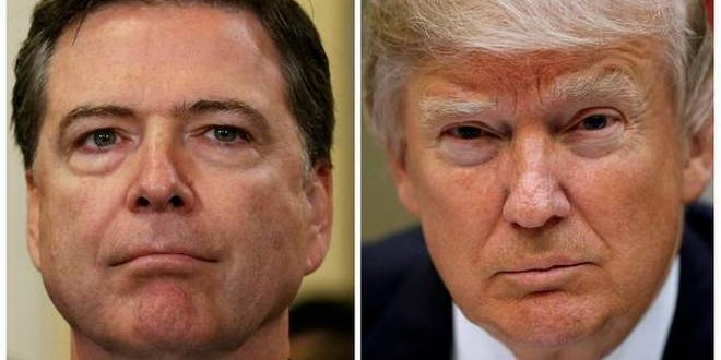 Comey's abrupt ouster boomerangs on Trump, courtesy former's aides