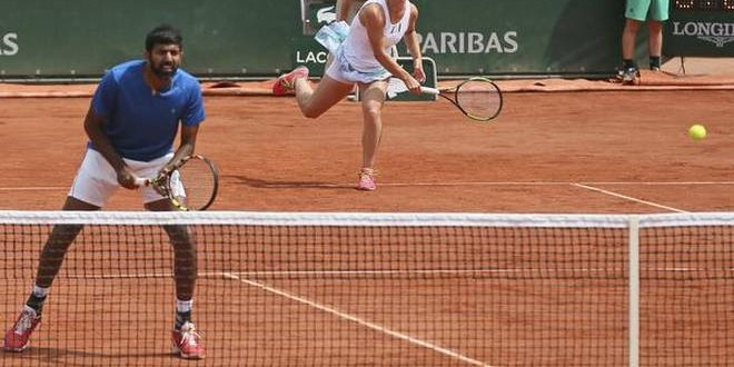 Bopanna lifts maiden Grand Slam title by winning French Open mixed doubles