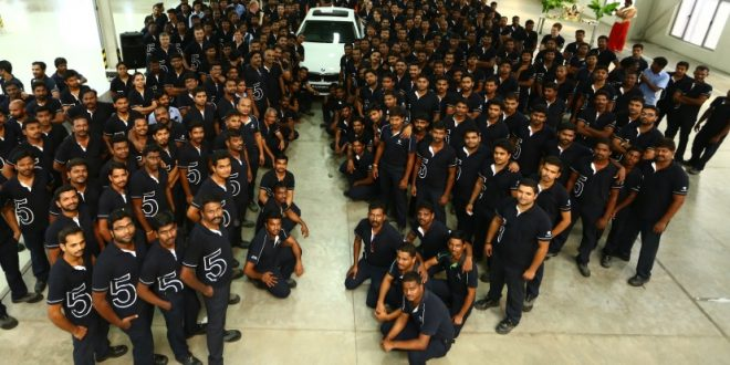 BMW Begins Production Of The New 5 Series Sedan In India