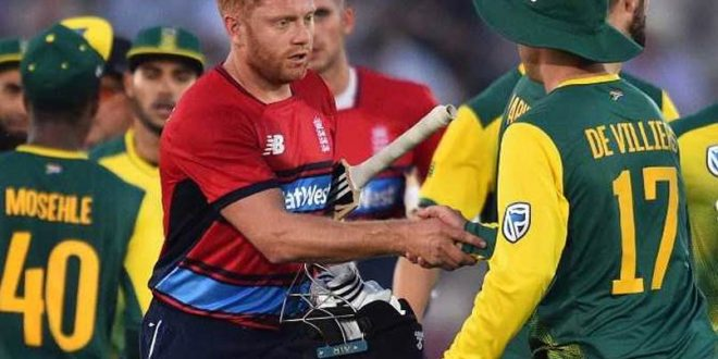 1st Twenty20: Jonny Bairstow's Dashing Knock Guides England To 9-Wicket Win Vs South Africa