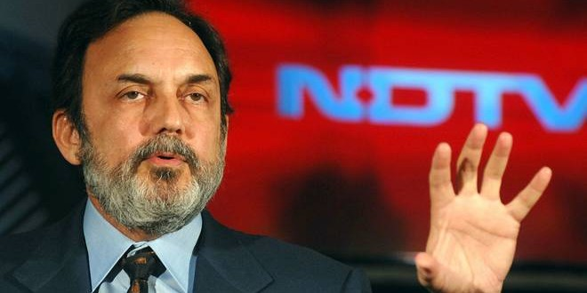 CBI registers case against NDTV founder Prannoy Roy; searches his premises