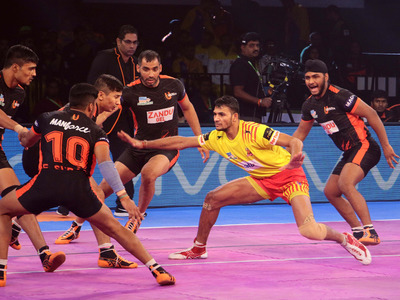 VIVO Pro Kabaddi: U Mumba thrashed by Fortunegiants