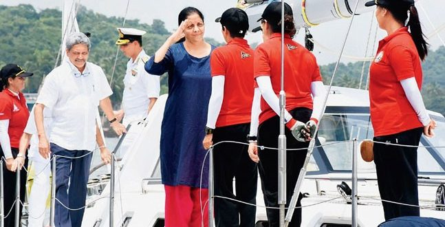 Around the globe in 8 months: Indian Navy's all-women team embark on historic voyage