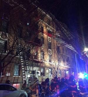 12 killed in New York City apartment fire