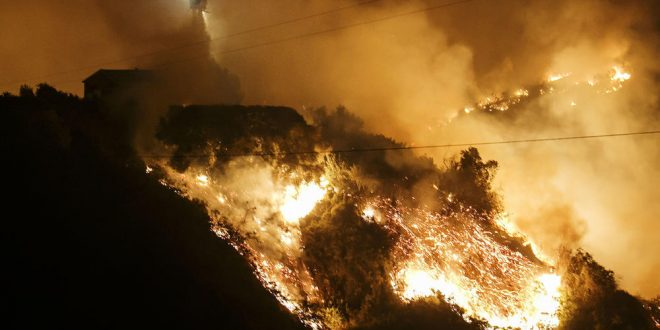 At 230,000 acres, Thomas fire is now the fifth-largest wildfire in modern California history