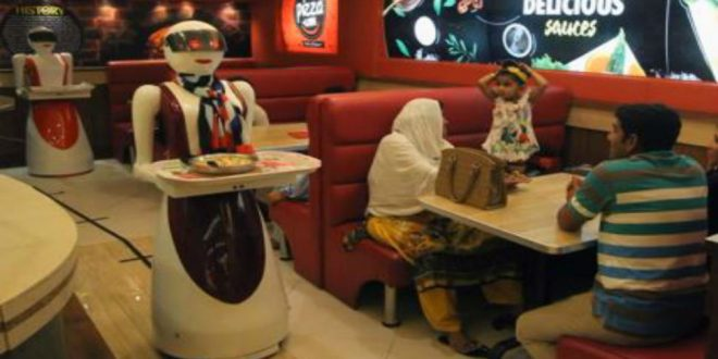 Chennai restaurant employs robots to serve you food