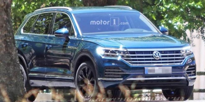 Production-Ready Next-Gen Volkswagen Touareg SUV Caught Testing
