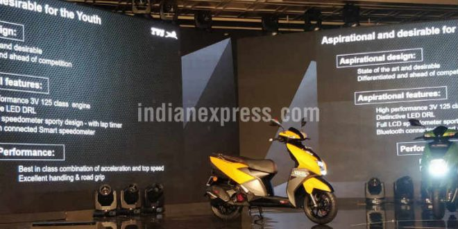TVS NTORQ 125 is a scooter with Smart features: Maps to parking locator, here's what it offers
