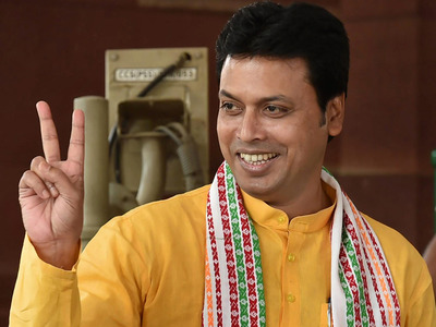 Internet and satellite existed since Mahabharata era, claims Tripura CM Biplab Deb