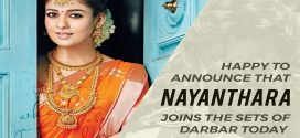 Nayanthara joins the sets of Darbar