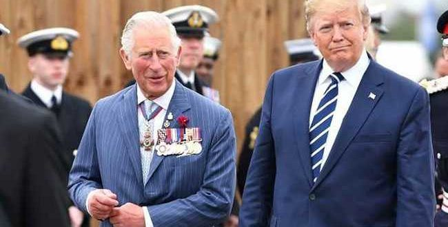 "Donald Trump Trolled After Calling Prince Charles ""Prince Of Whales"""
