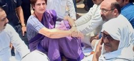 Live updates: Priyanka Gandhi Spends Night At Mirzapur Guest House In UP