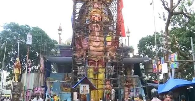 Ganesh Chaturthi: 61-Feet High Ganesh Idol In Hyderabad Claimed To Be Tallest In India