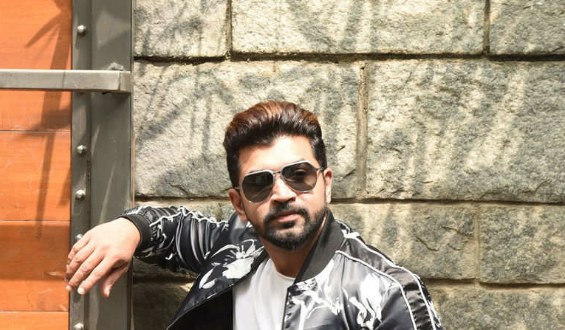 Arun Vijay injured while performing a stunt sequence