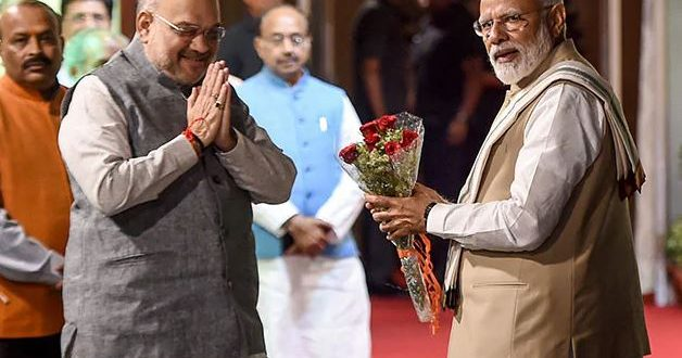 """Experienced, Efficient Organiser"": PM Tweets Birthday Wish For Amit Shah"