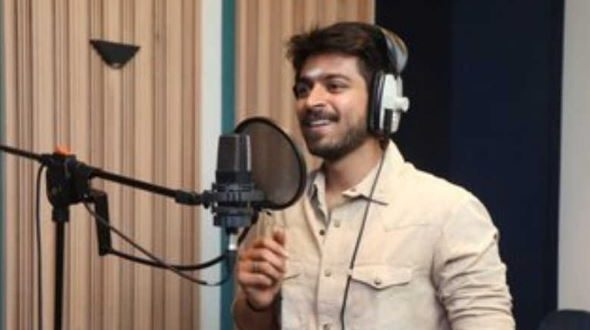 Harish Kalyan begins dubbing for his next