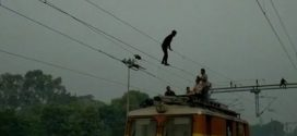 "Madhya Pradesh Man Does ""Acrobatics"" On Overhead Wire, Trains Delayed"